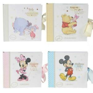 Disney Magical Beginnings Baby Photo Album / Scrapbook Choose Design
