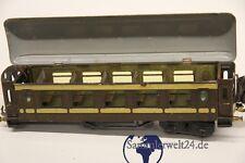alter Waggon Bing  Blecheisenbahn D Zug Anhänger Spur 0