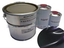2 litri Set 2K bootslack BLACK Viola Metallizzato YACHT lackpoint LUCIDO BARCA