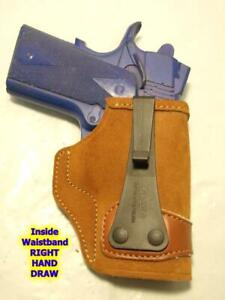 """TUC424 GALCO Tuck-N-Go IWB Holster for COLT New Agent 1911 3"""" SPRINGFIELD Micro"""