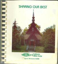 Spicer, Minnesota Cookbook - Green Lake Lutheran Bible Camp - 1990 Scandinavian