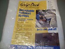 DETACHABLE BEDSKIRT SYSTEM