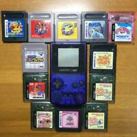 Gameboy Color and Game software used nintendo japan