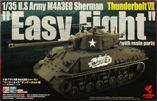 Asuka Model #35040S 1/35 M4A3E8 Sherman, Thunderbolt VII w/Resin Parts