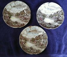 Johnson Bros Olde English Countryside Bread & Butter Plates-Set of 3
