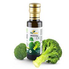 Certified Organic Cold Pressed Broccoli Seed Oil 100ml Biopurus