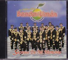 Banda El Limon De Rene Camacho Secretos de Mi Memoria CD USED LIKE NEW