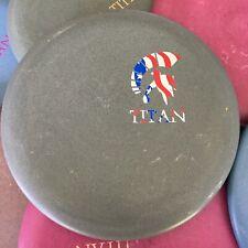 DISCRAFT Spartan Titan DG Stamped Paul McBeth Signature Luna Disc Golf Putter!!