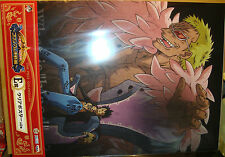 ONE PIECE ICHIBAN KUJI COLOSSEUM TRAFALGAR LAW/DOFLAMINGO CLEAR POSTER BANPRESTO