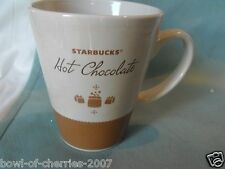 "Starbucks Mug, ""Hot Chocolate"", 15 Oz, 2010, EUC"