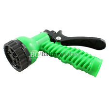 Garden Lawn Hose Nozzle Sprinkler Head Water Sprayer Green - 7 SPRAY PATTERNS!