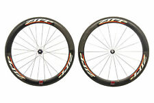 Zipp 404 Road Bike Wheelset 700c Carbon Tubular Campagnolo 11 Speed