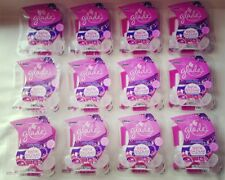 24 GLADE BATIK BAZAAR PLUGINS SCENTED OIL REFILLS WILD ROSE SAFFRON 12 Pack LOT