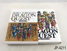 Toriyama Akira Dragon Quest Illustrations Japanese Artbook Japan Art Book