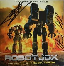 ROBOT JOX Soundtrack CD Intrada SIGNED BY STUART GORDON, Talgorn, 2 More OOP!