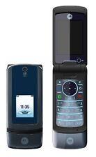 Móvil Motorola KRZR K3 Profundo Pearl grey gris oscuro libre