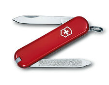 VICTORINOX ESCORT COUTEAU SUISSE CANIF 6 OUTILS LAME LIME ROUGE 58 MM 0.6123