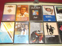 LOT! Vtg ROCK / COUNTRY 80's Cassette Tapes / BUFFET / FLEETWOOD MAC / THE CARS!