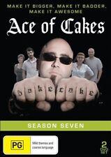 Ace Of Cakes : Season 7 (DVD, 2014, 2-Disc Set) Region 0