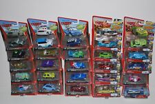NEW LOT OF 160 Disney Cars, diecast, Snor Rod, Flo, Sarge, Sally, King, Racers