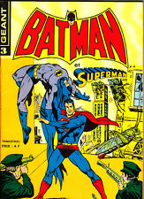 BATMAN GEANT ET SUPERMAN N°3  DE DEC 1976 - JANV-FEV 1977 SAGEDITIONS