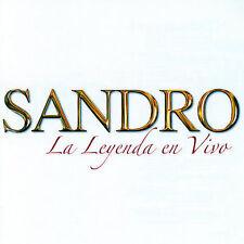 SANDRO - LA LEYENDA EN VIVA NEW CD