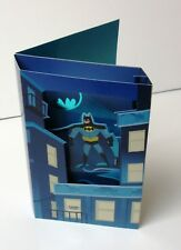 Hallmark Batman Light & Sound DC Comics Father's day gift card Thanks Dad