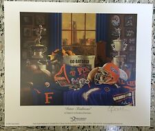 "University of Florida  ""Gator Traditions""  print by Greg Gamble"