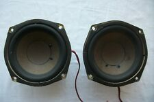 a pair of well working Sony 1-529-260-11 IST 1087  4-inch subwoofers