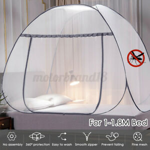 150-180CM Folding Home Mosquito Net Tent Canopy Curtains Indoor Travel
