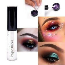 Hot 4pcs Mixed Mermaid Body Art Holographic Cosmetic Face Eyeshadow Loose Powder 1 PC Fix GEL