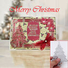 Christmas Tree Cutting Dies Stencil Scrapbook Craft Photo Embossing Paper Crad