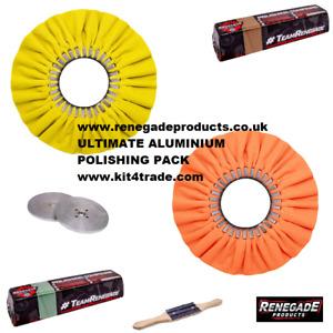 Renegade Products Ultimate Aluminium Polishing Kit - 6 Piece Kit - UK STOCK
