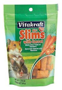 Vitakraft Carrot Slims Mini for Hamsters 1.76oz