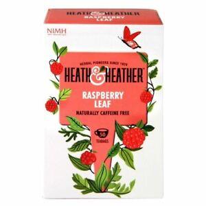 Heath And Heather Raspberry Leaf - 50 Bags