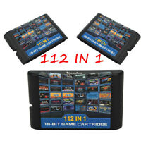 For Sega Genesis Mega Drive Game Cartridge 16-Bit Multi Cart Cartridges Sonic NK