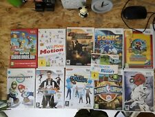 11 Nintendo Wii EU (PAL) games: Super Mario, Paper Mario, Okami, NBA JAM