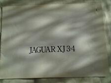 Jaguar XJ 3.4 brochure Feb 1975