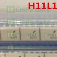 4PCS QTC/MOT H11L1 DIP 6-Pin DIP Optoisolators Logic Output