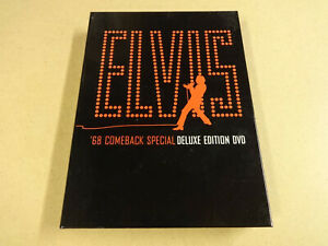 3-DISC MUSIC DVD BOX / ELVIS - '68 COMEBACK - SPECIAL DELUXE EDITION DVD