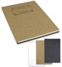 Handlettering Block A4, 60 Blatt, 3 Farben und 3 Stärken  (2,27€/m²) Kraftpapier