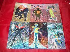 SAILOR MOON Series 2 JUMBO Prismatic Card    Complete  set