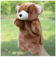 Finger Animal Teddy Bear Sleeve Dolls Hand Puppet Educational Baby Plush Toys