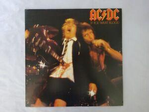 AC/DC If You Want Blood You've Got It Atlantic P-10618A Japan   LP
