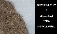 EPSOM SALT- GHASSOUL CLAY BODY FACIAL CLEANSER - 1kg