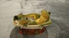 "Tim Wolfe – #9166 ""Newlyweds� 1999 Release Frog Sculpture Figurine"