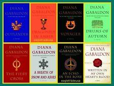 Diana Gabaldon Outlander Complete Set 1-8  - HARDCOVER NEW