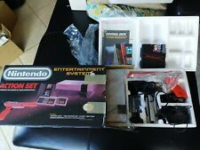 Nintendo Nes Action Set orginal owner complete w/ box and packaging game +