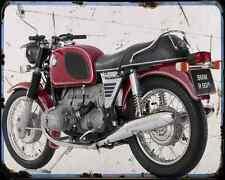 Bmw R 60 5 A4 Metal Sign Motorbike Vintage Aged