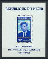Niger Bloc N° 10** (MNH) 1973 - John F. Kennedy